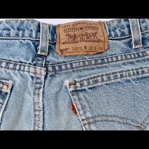 Vintage Men's Levi's Orange Tab 32x32 Distressed